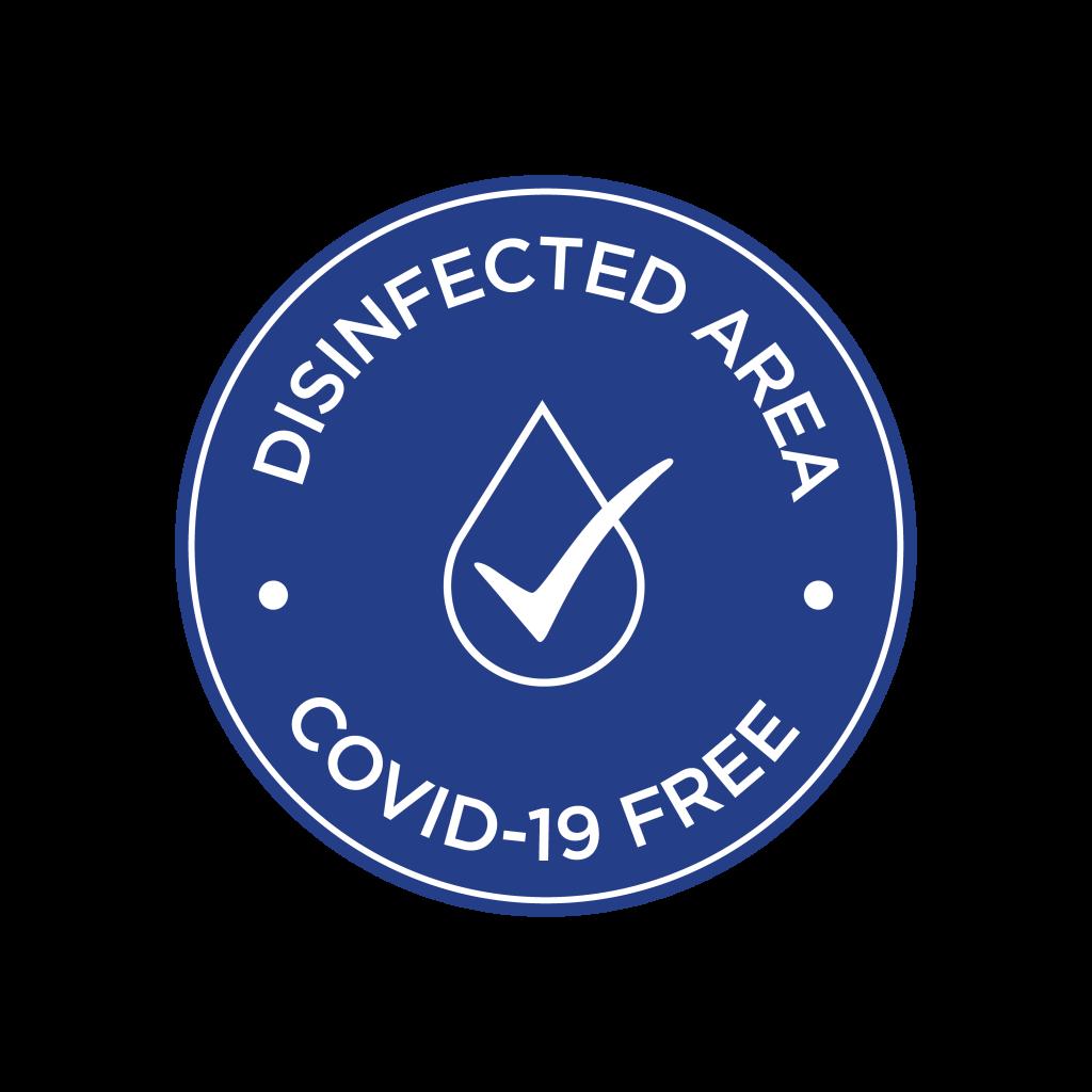 Disinfected Area symbol